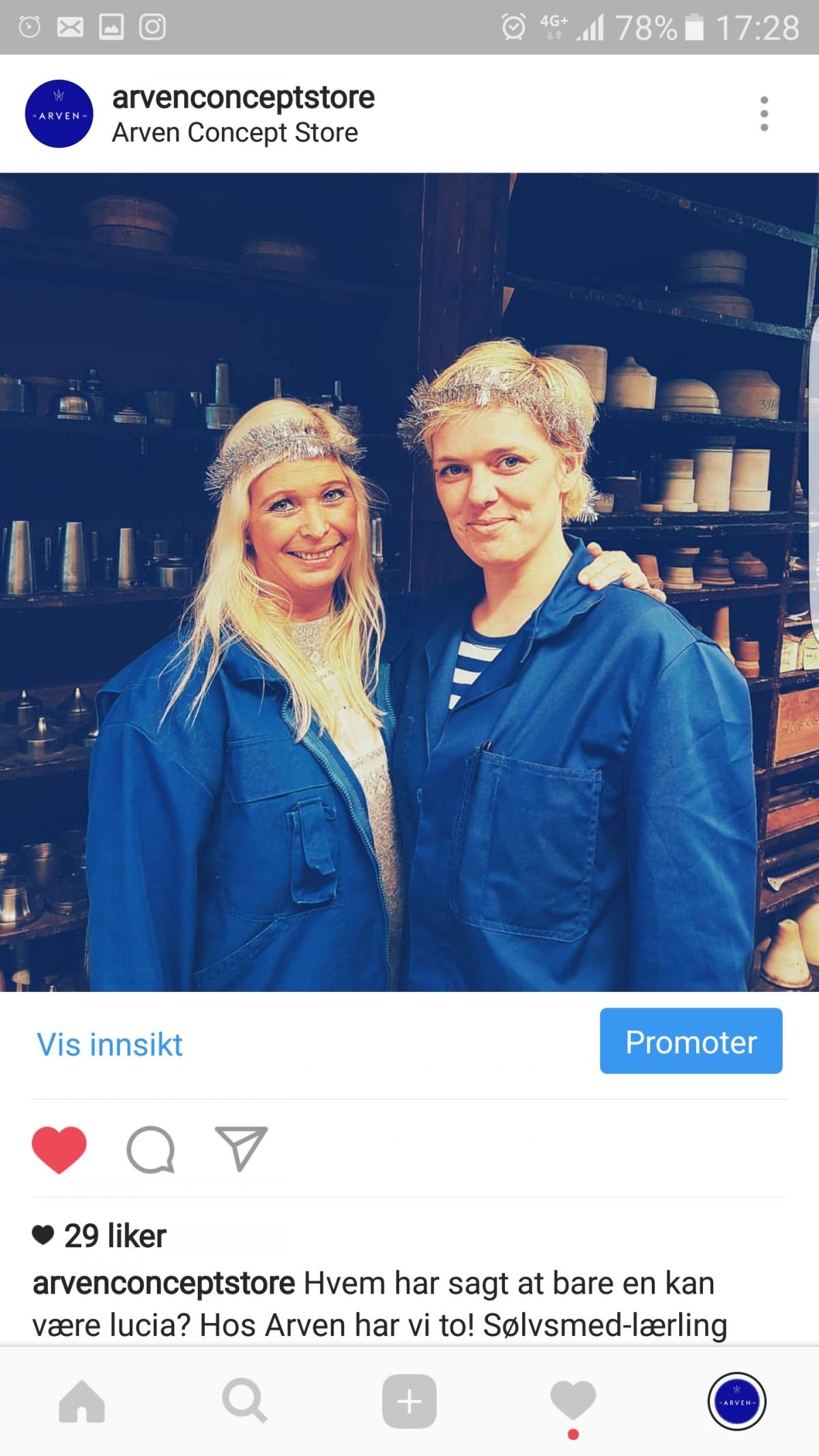Bergstrøm Innholdsmarkedsføring Arven